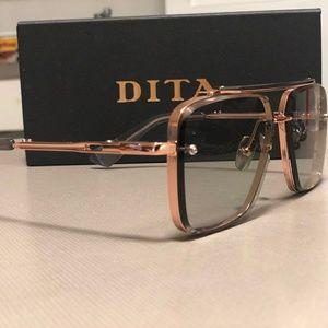 DITA mach Six Rosegold Sunglasses